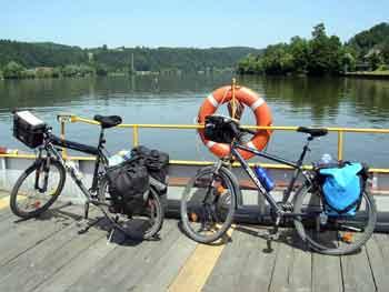 Crossing the Danube near Passau