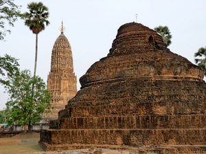 Ruins at Si Satchanalai, UNESCO world heritage