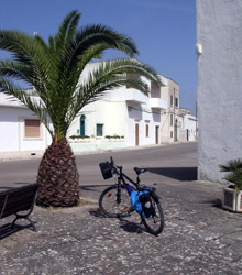 Small town not far from Otranto